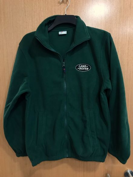 Land Rover Bottle Green Fleece